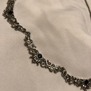 Jewelry - Sapphire Silver Necklace